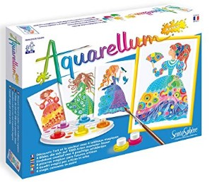 Aquarellum Flower Princesses Arts and Crafts Paint Set