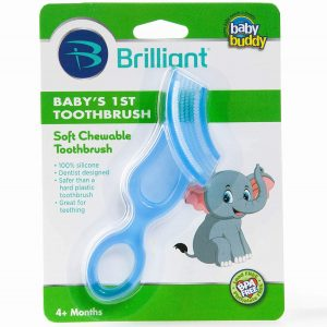 Brilliant Baby's 1st Toothbrush Teether