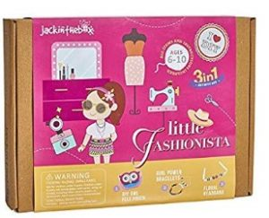 Little Fashionista 3-In-1 Girl Craft Kit for Kids
