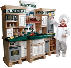 Step2 Lifestyle Deluxe Kids Pretend Kitchen