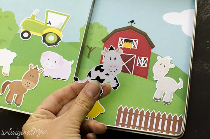 12. Magnetic Farm Game