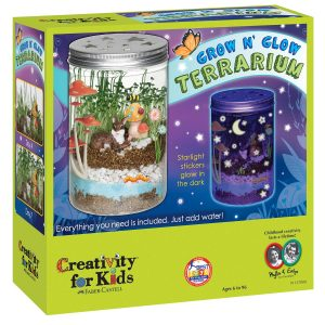 Creativity For Kids Grow 'N Glow Terrarium Science