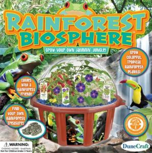 Dunecraft Rainforest Biosphere Science Kit
