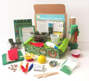 GreenKidCrafts Rainforest Science Discovery Box