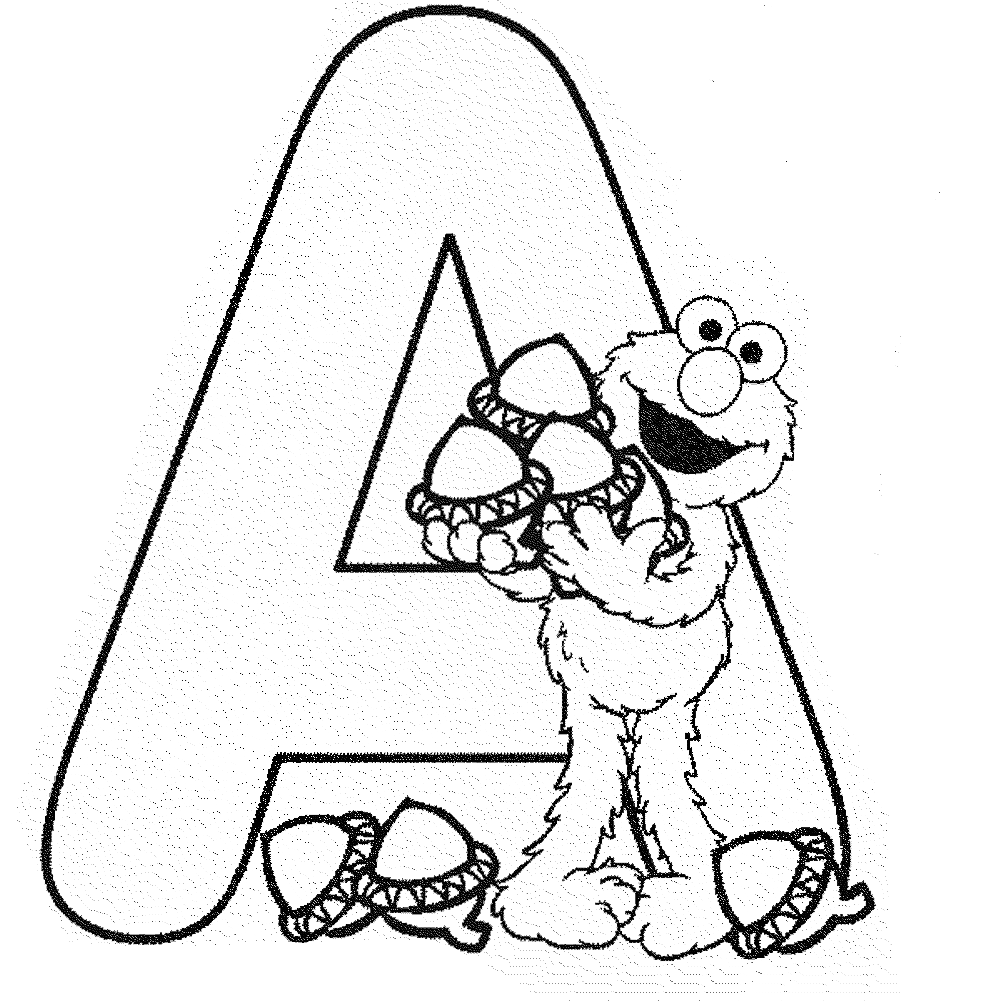 Letter A Coloring Pages For Toddlers Be Creative With Abc Coloring Pages
