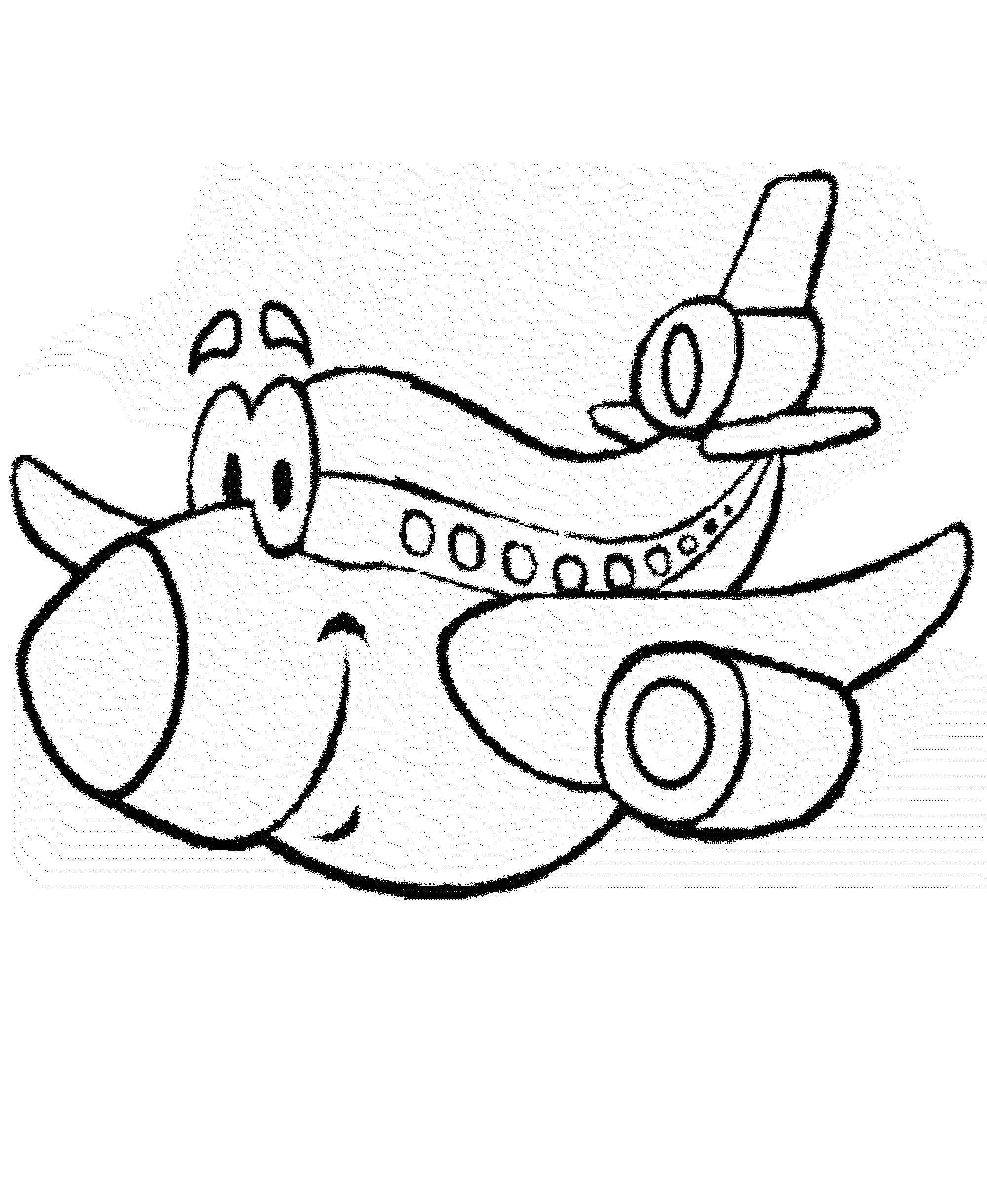 bi plane coloring pages - photo#33