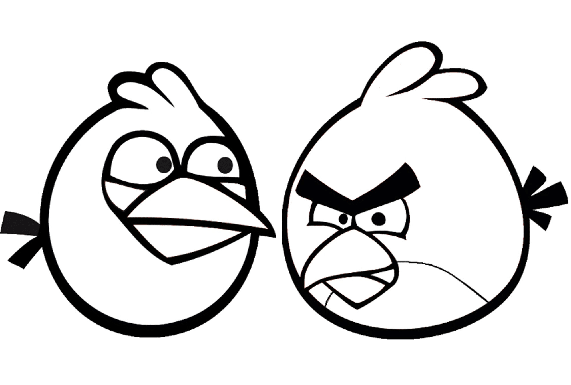 photograph regarding Angry Birds Printable Coloring Pages named Indignant Birds Coloring Webpages for Your Reduced Little ones