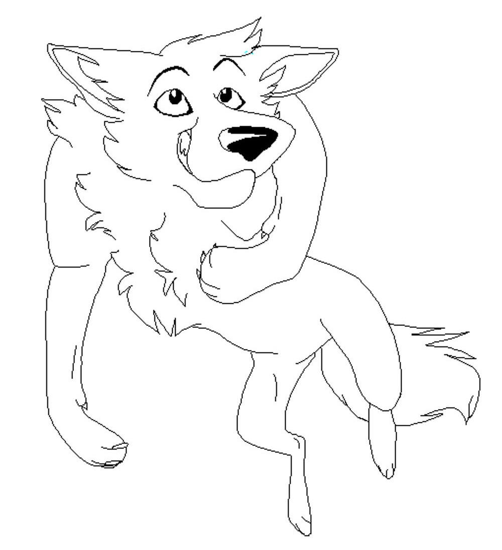 Anime Wolf Coloring Pages Best Apps For Kids