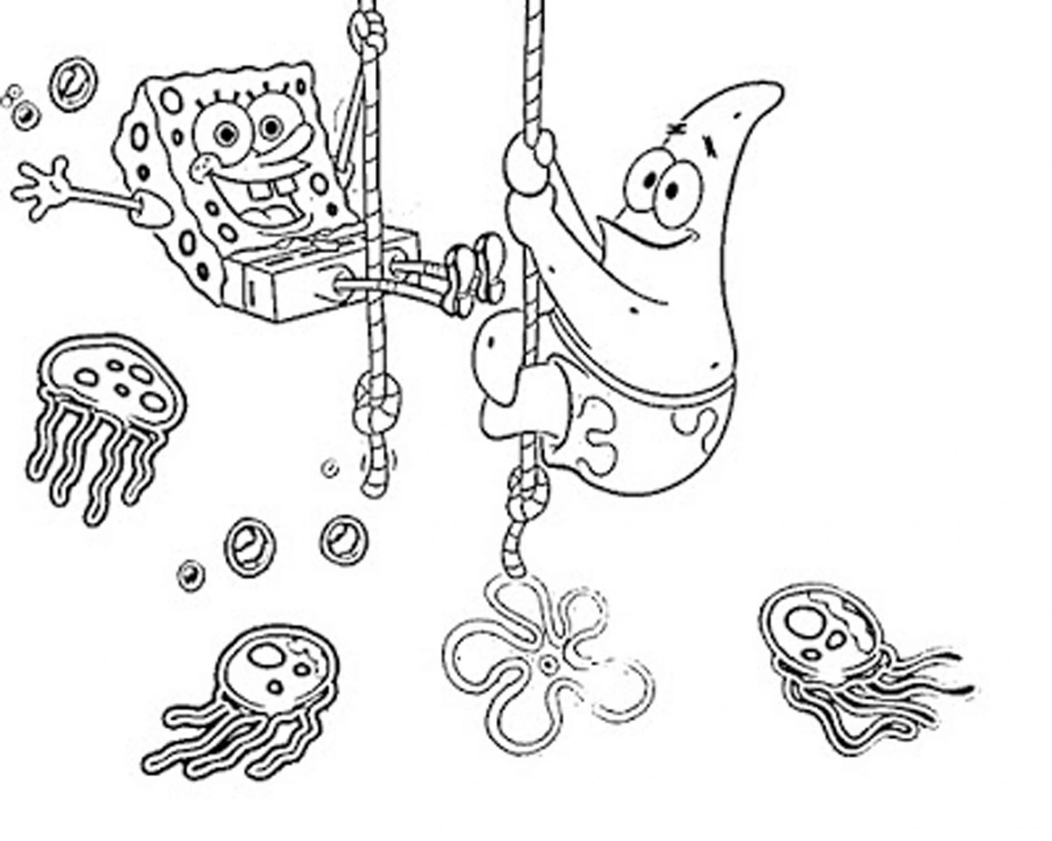 Print & Download - Choosing SpongeBob Coloring Pages For ...