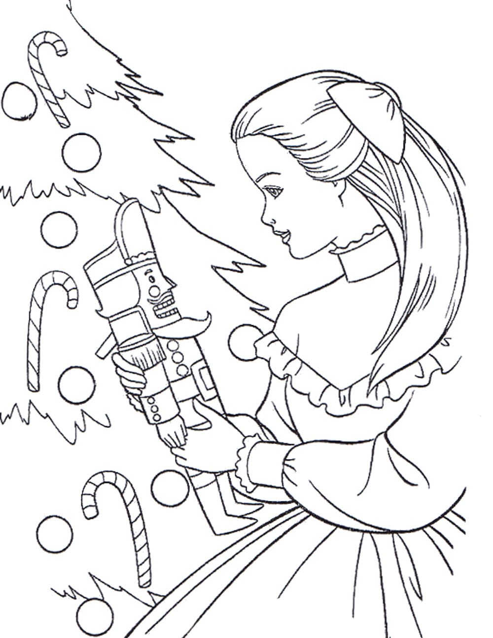 barbie-christmas-coloring-pages | | BestAppsForKids.com