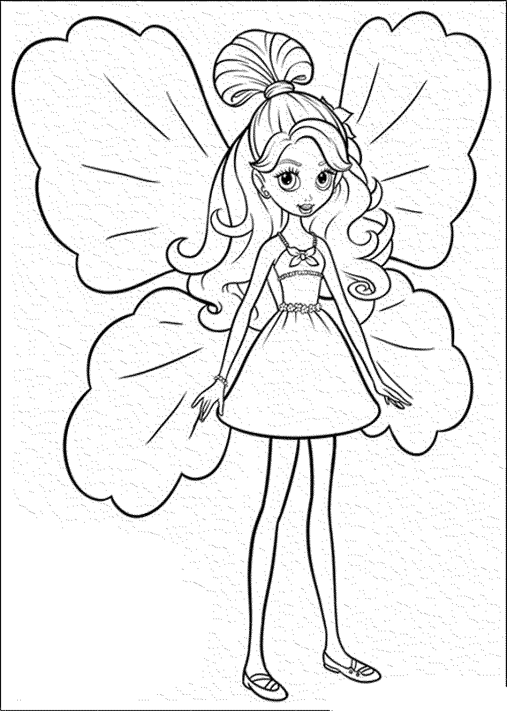 barbie-coloring-pages-for-girls | | BestAppsForKids.com