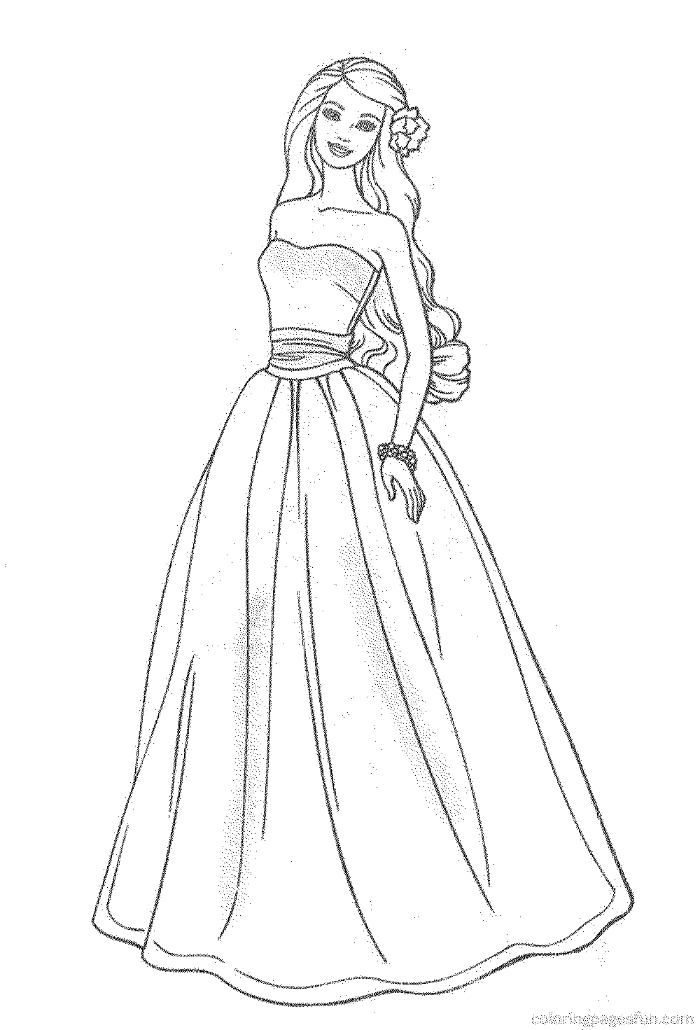 barbie-free-coloring-pages | | BestAppsForKids.com