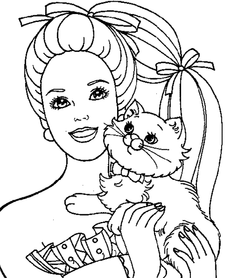 barbie-princess-coloring-page | | BestAppsForKids.com