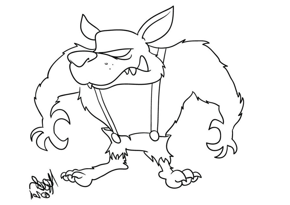 Big Bad Wolf Coloring Page Bestappsforkidscom - Big-bad-wolf-coloring-page