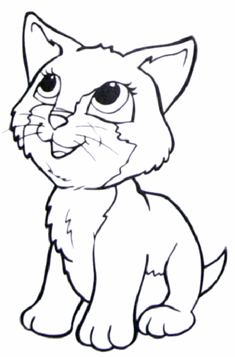 Print download the benefit of cat coloring pages for Cat coloring pages for toddlers