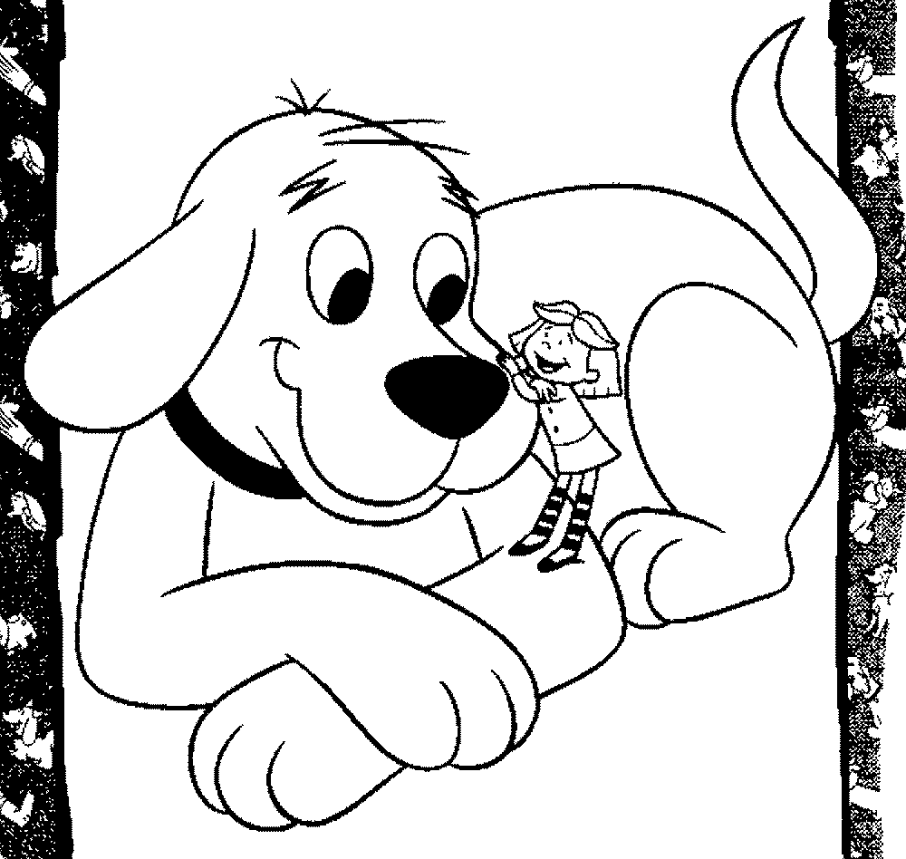 clifford-the-big-red-dog-coloring-pages | | BestAppsForKids.com
