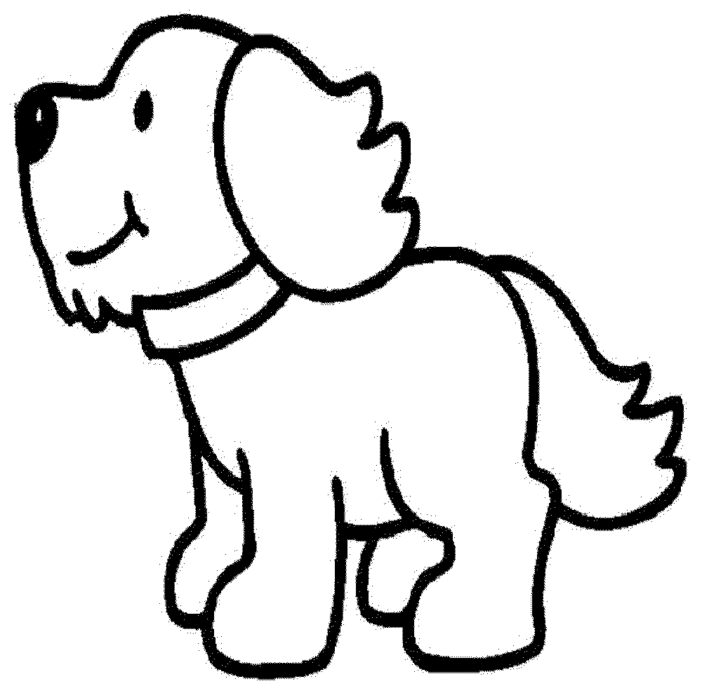coloring page of a dog - employ dog coloring pages for your children s creative time