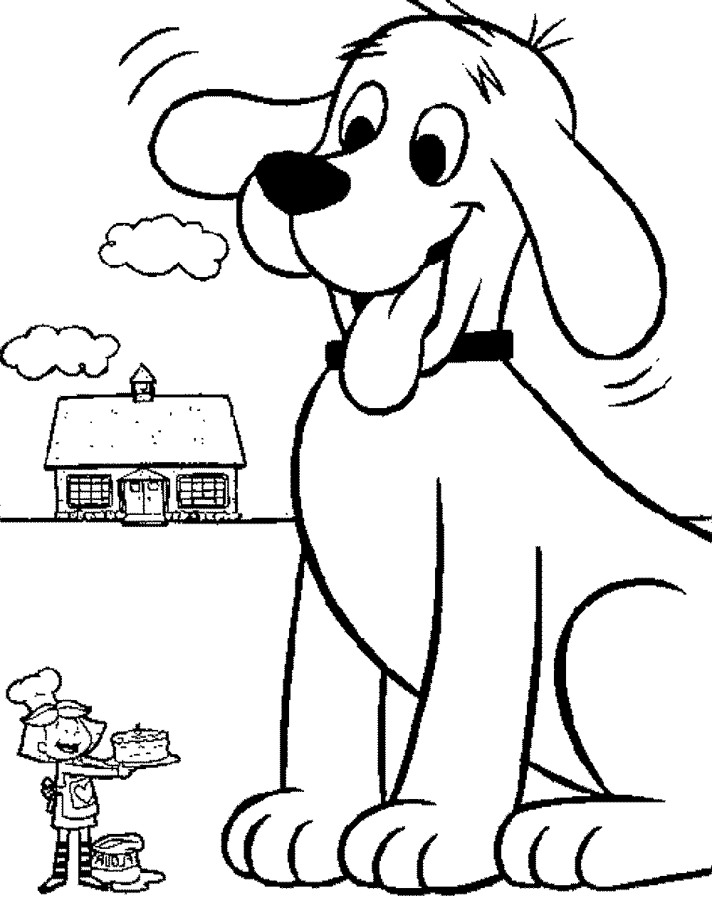 Employ Dog Coloring Pages For Your Childrens Creative Time