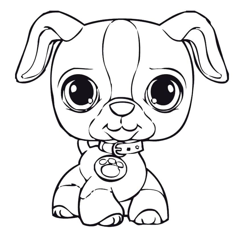 Draw Your Own Puppy Coloring Pages
