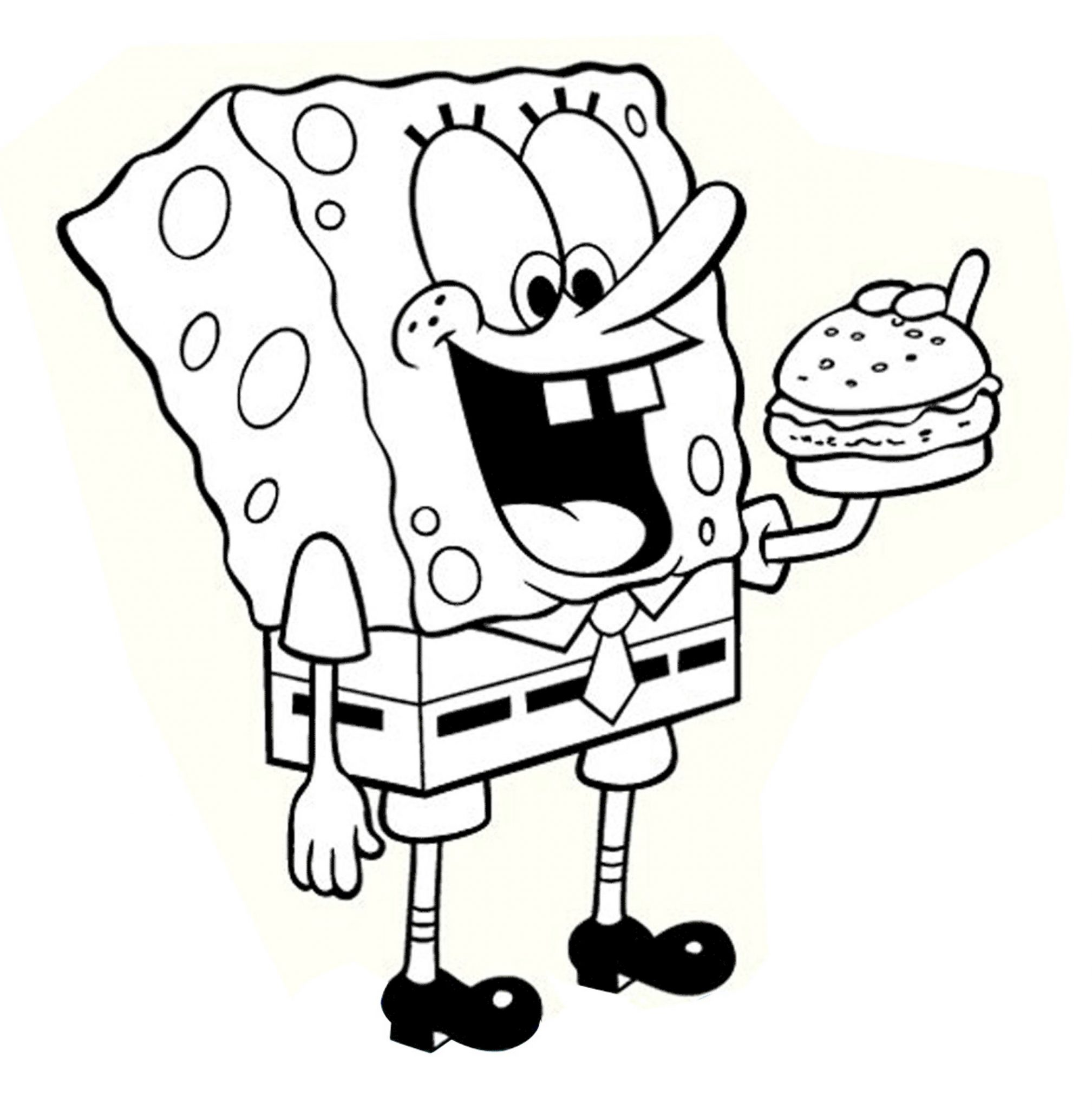 Print & Download Choosing SpongeBob Coloring Pages For Your