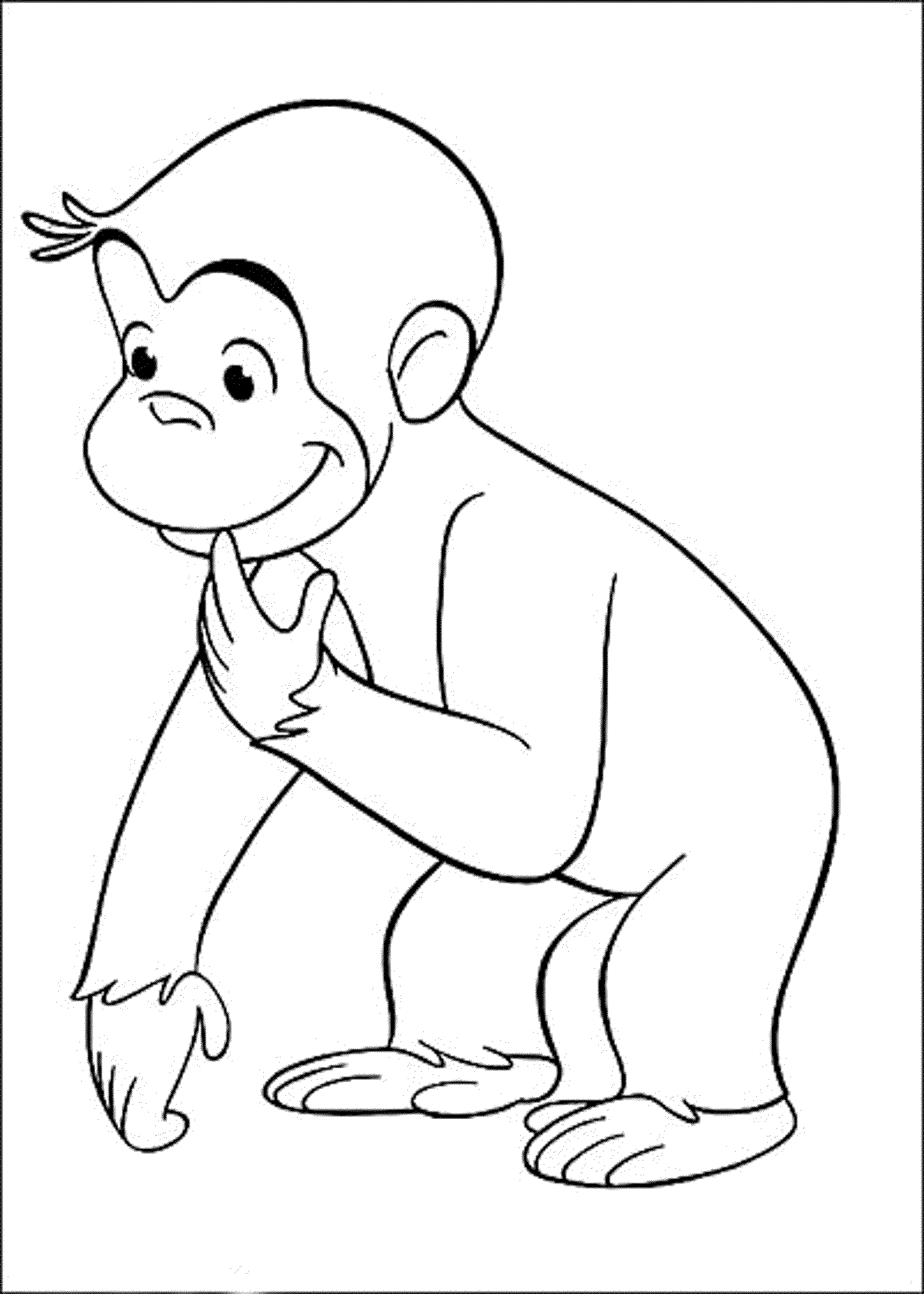 free printable coloring pages of curious george | curious-george-online-coloring-pages-free ...