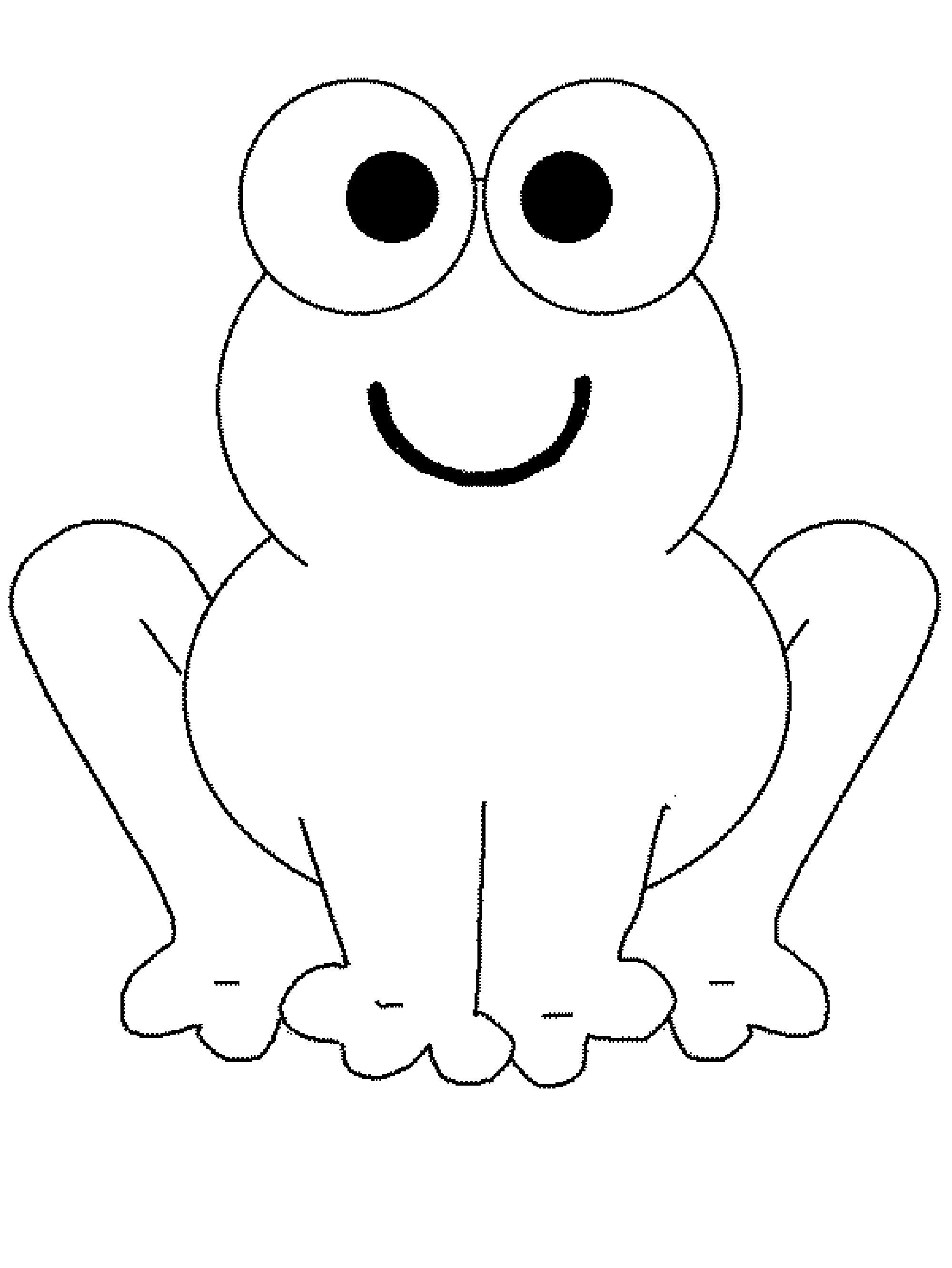 Cute Frog Coloring Pages Bestappsforkids Com