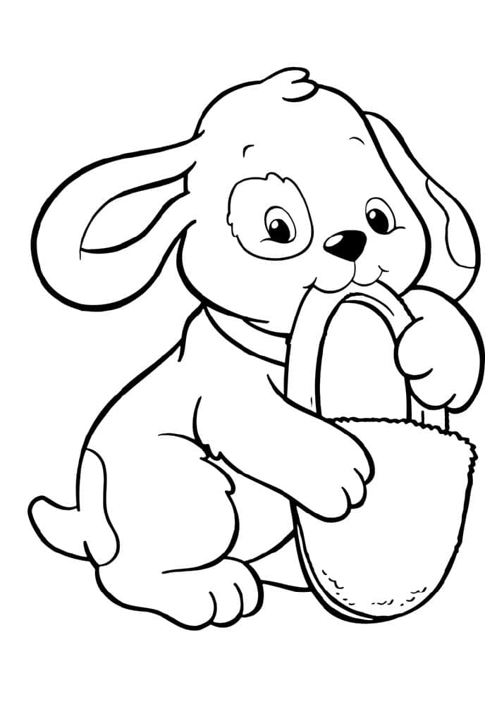 Print download draw your own puppy coloring pages for Cute puppies coloring pages