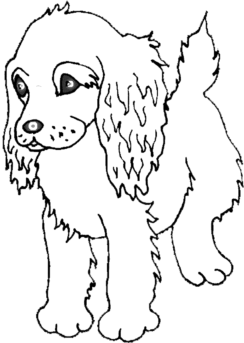 Employ Dog Coloring Pages for Your Children s Creative Time