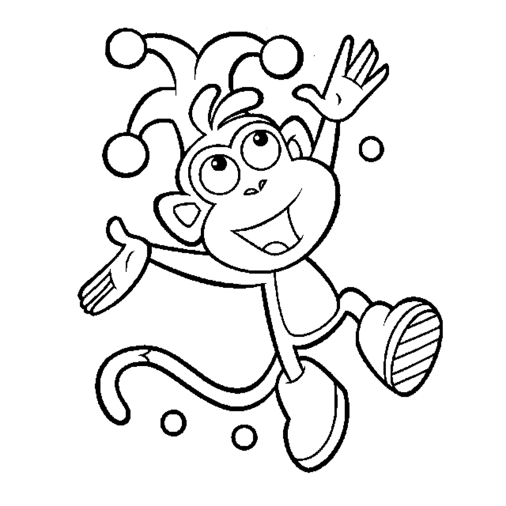 educational coloring pages | Print & Download - Dora Coloring Pages to Learn New Things