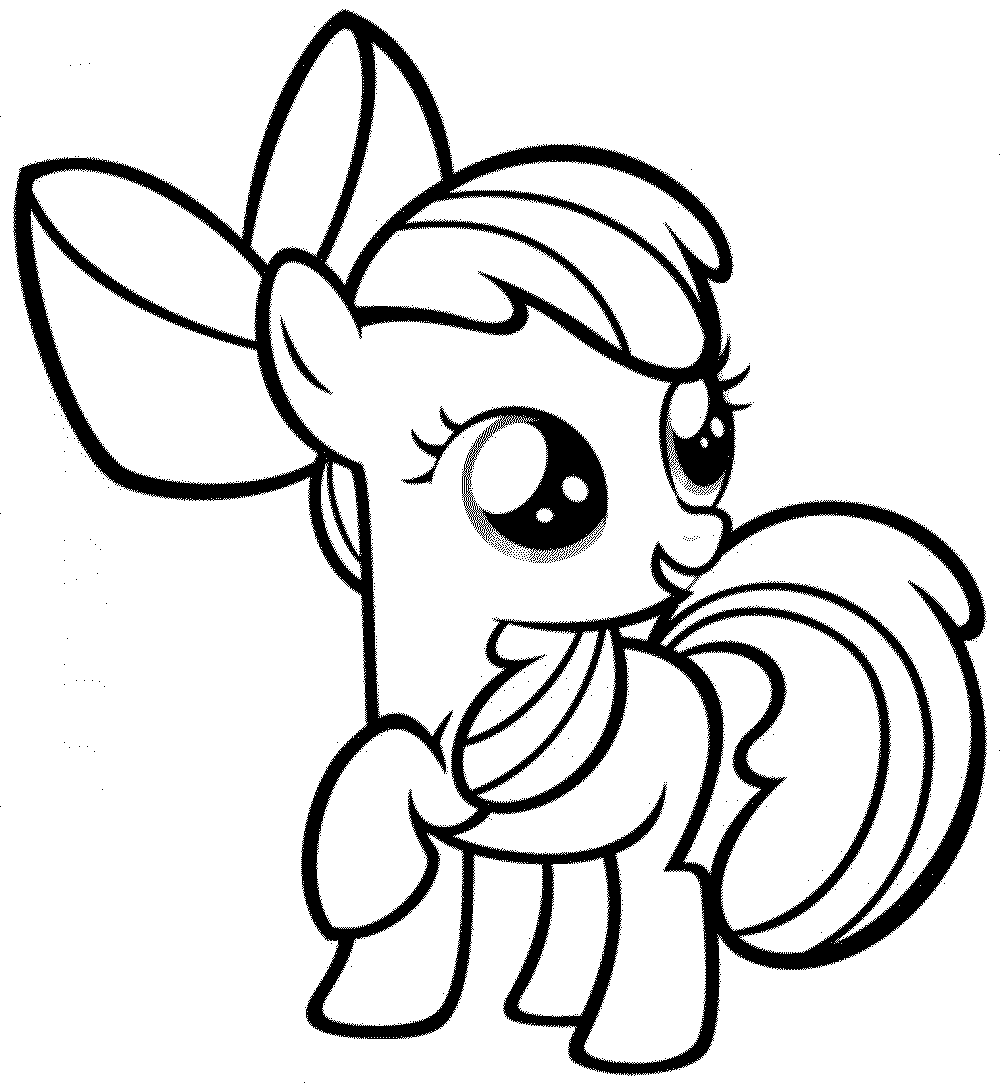 Print & Download - My Little Pony Coloring Pages: Learning with Fun