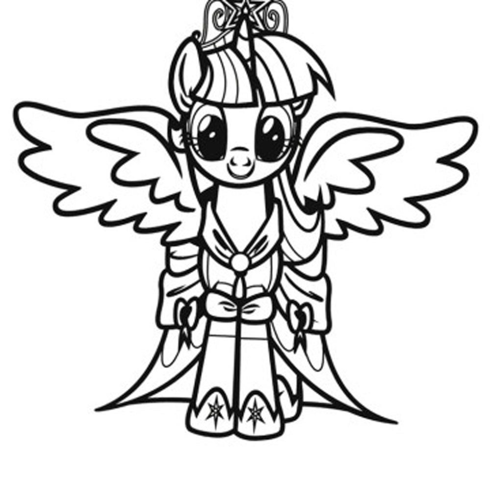 free printable my little pony coloring pages - Printable My Little Pony Coloring Pages