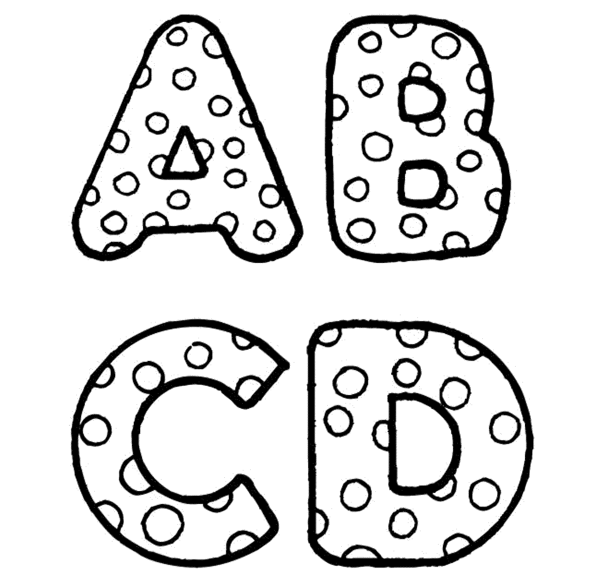 graffiti abc coloring pages