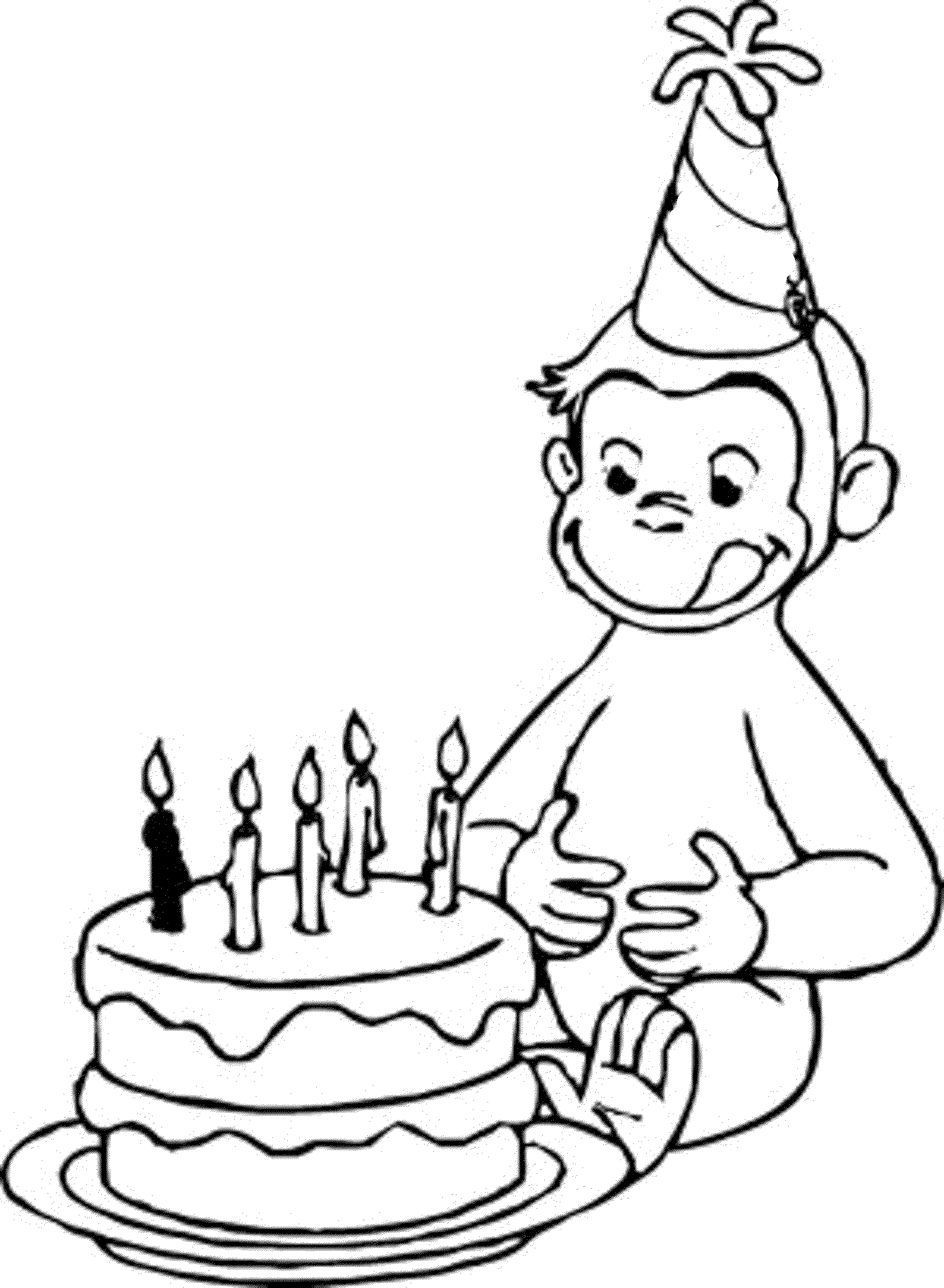 shop related products - Coloring Pages For Happy Birthday