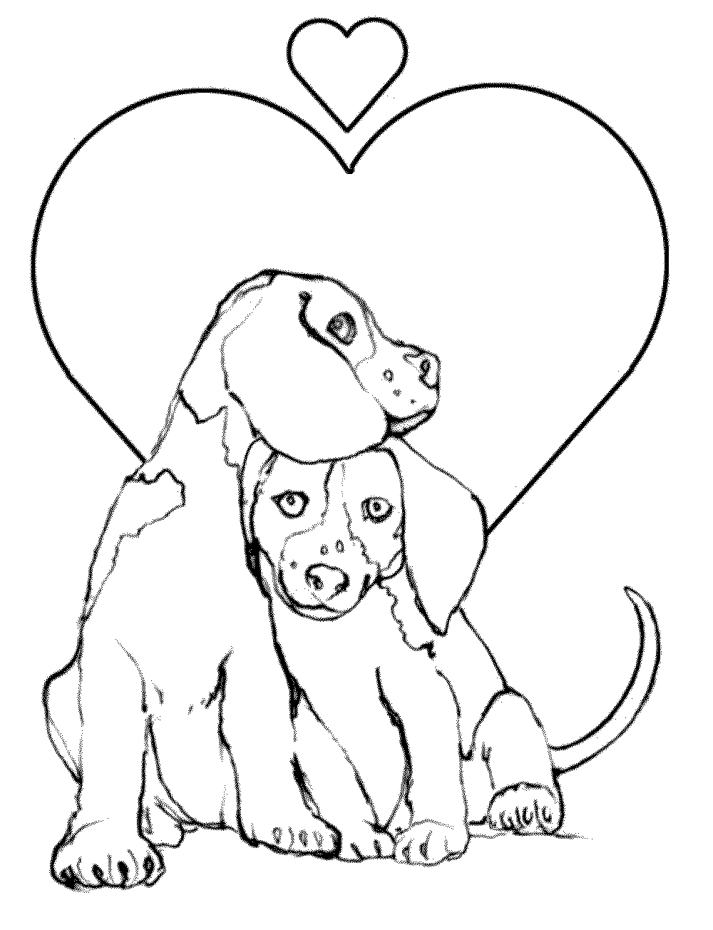 harry the dirty dog coloring page - Dogs Coloring Pages