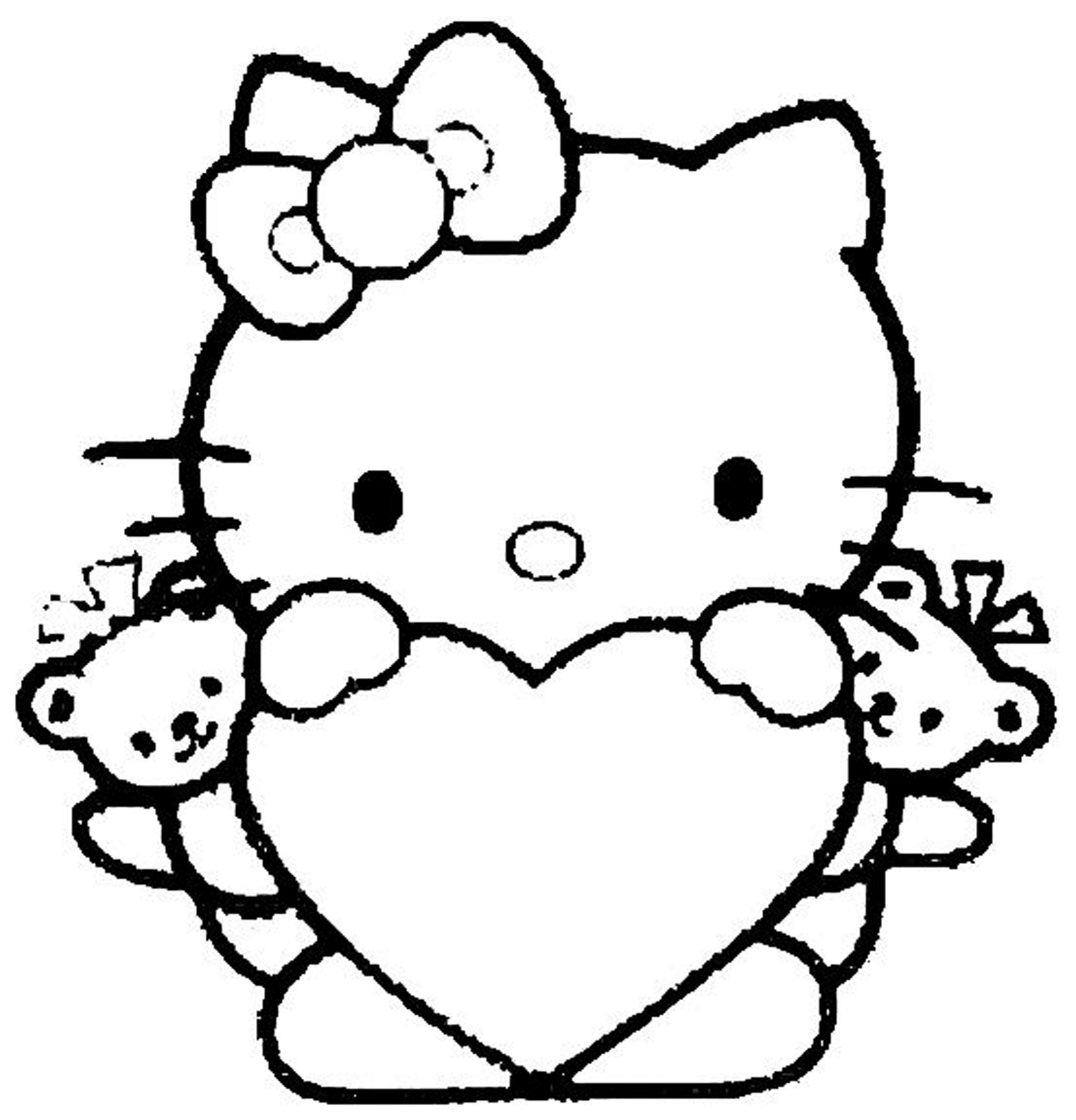 hello-kitty-color-pages-for-girls | | BestAppsForKids.com