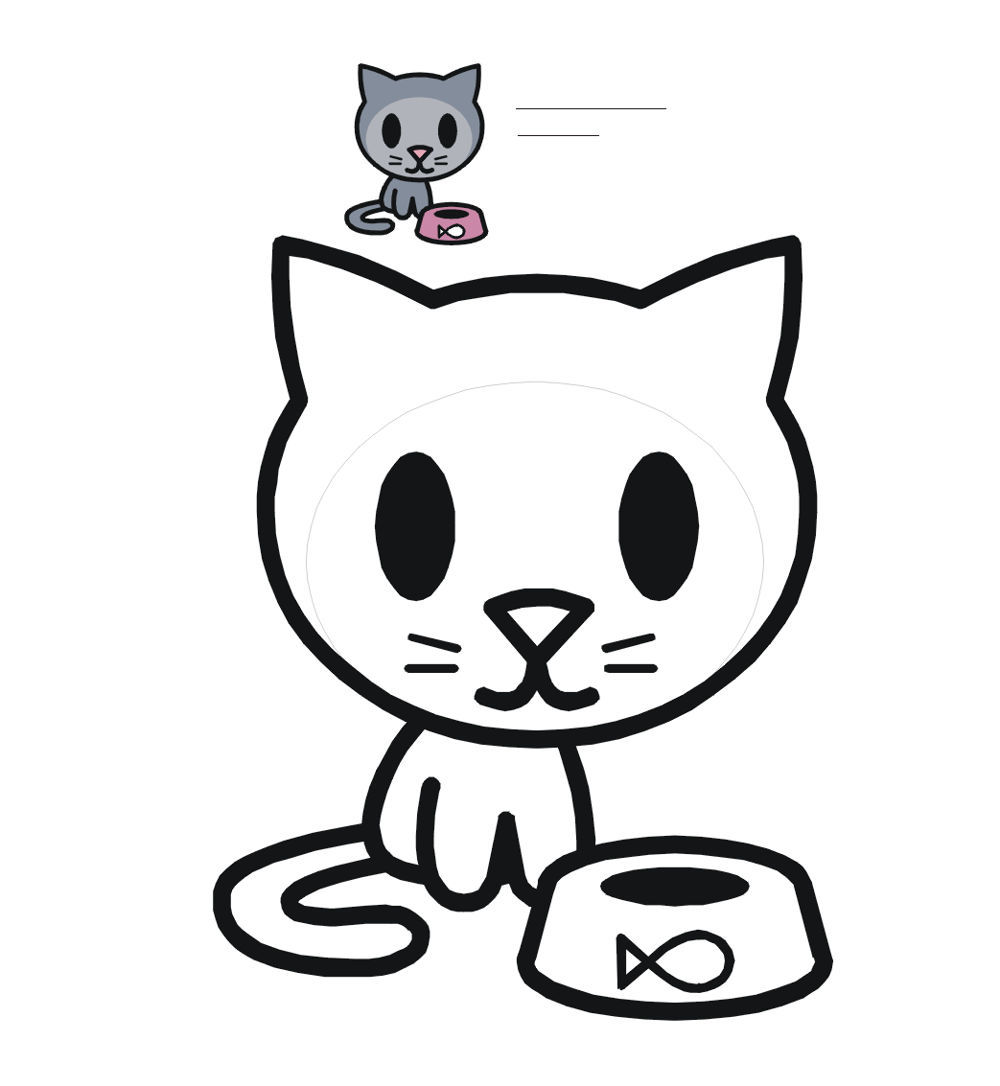 shop related products - Kitty Cat Coloring Pages