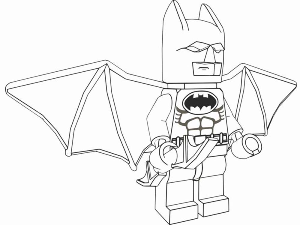 Lego Batman Coloring Pages Bestappsforkids Com