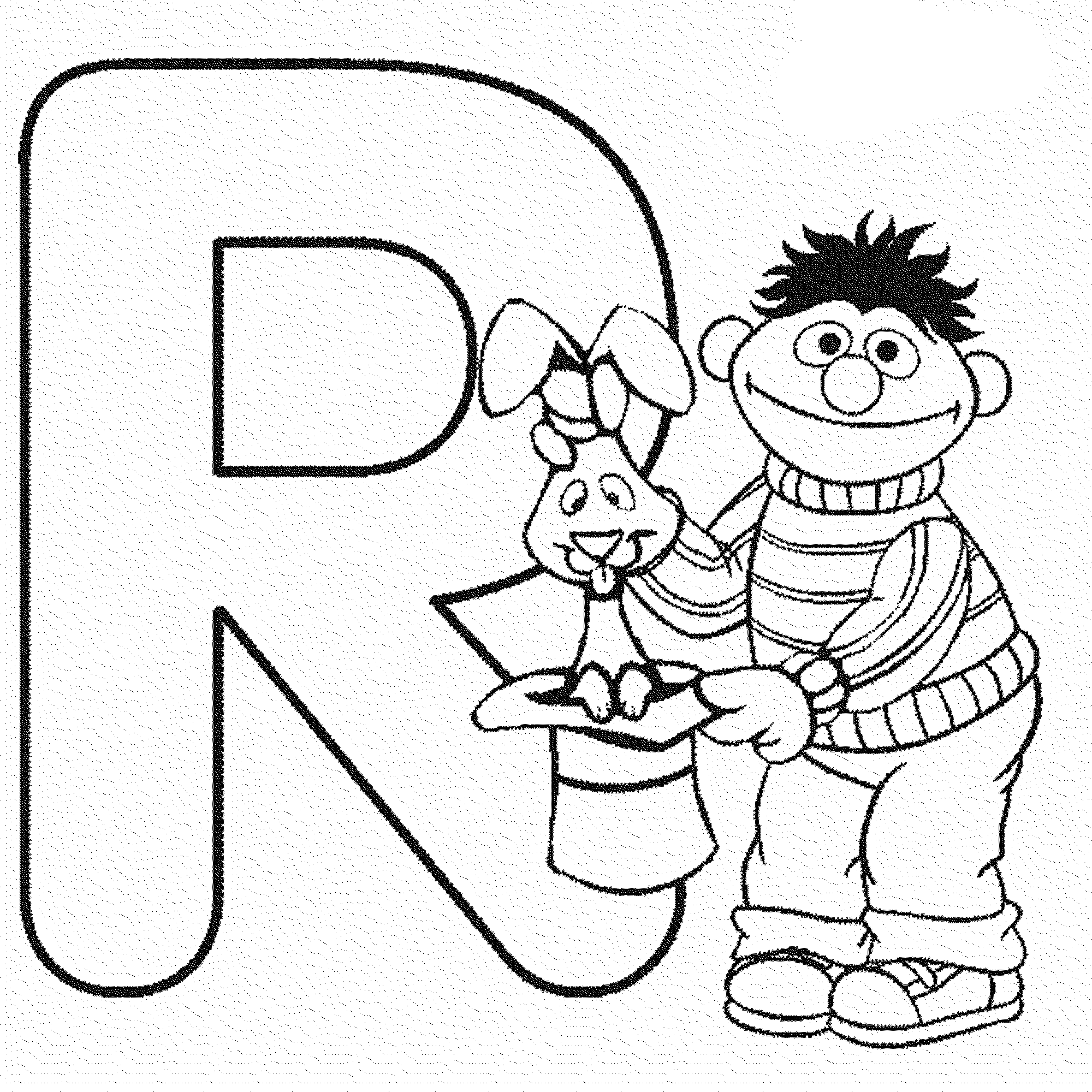 check - Sesame Street Coloring Pages Elmo