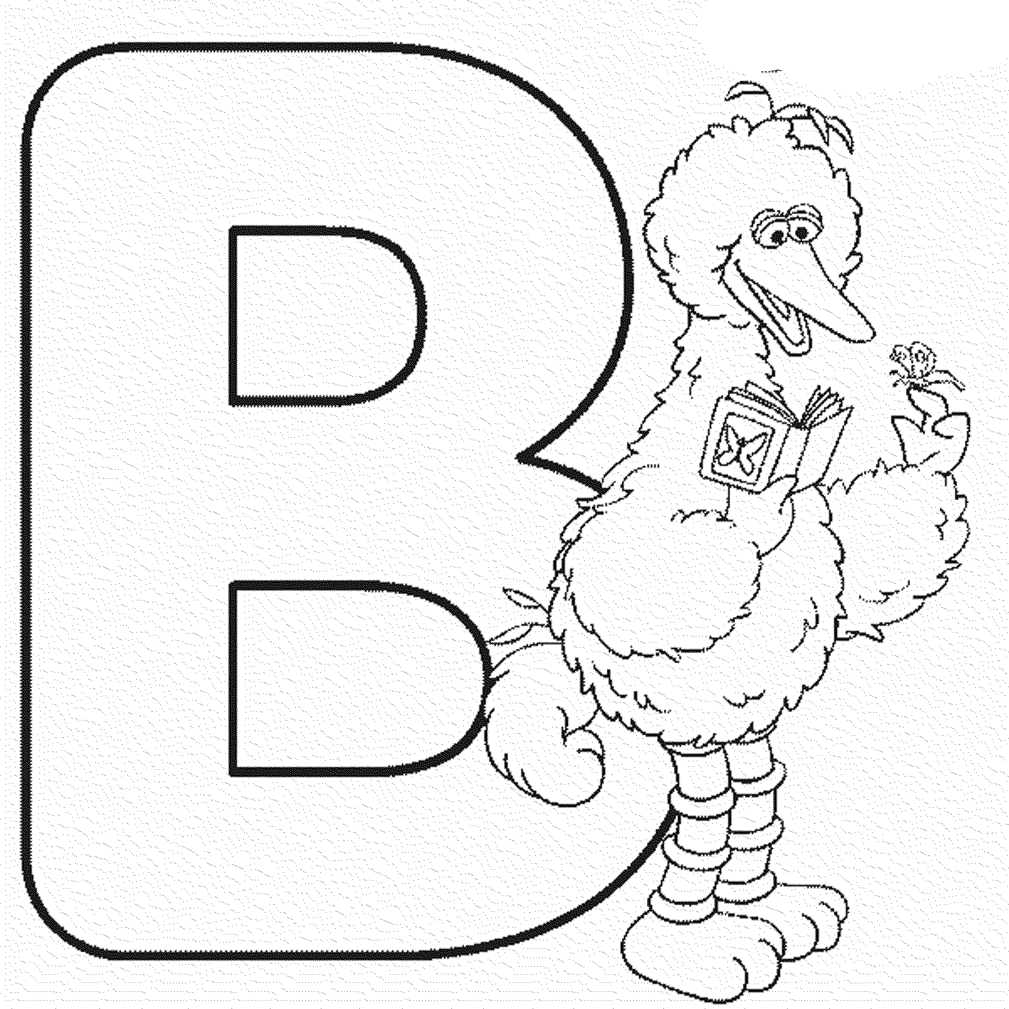 Letter B Coloring Pages Activities