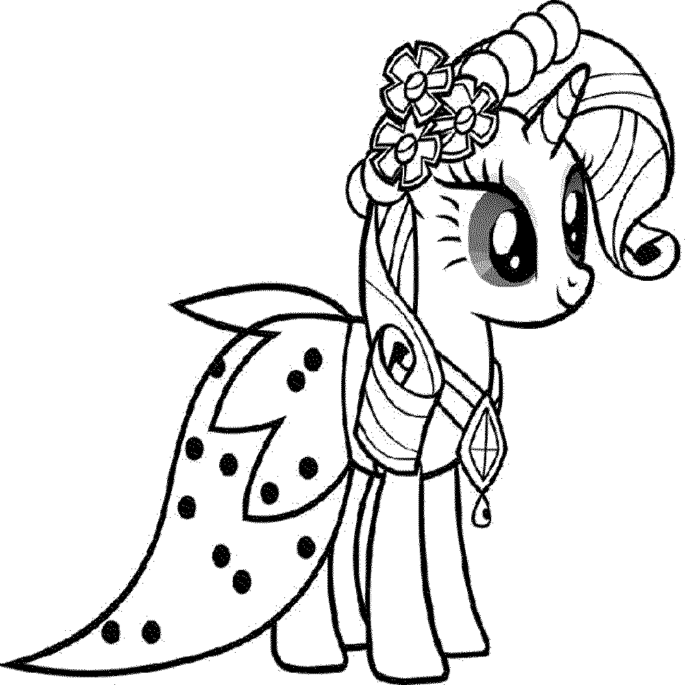 My Little Pony Coloring Pages Free