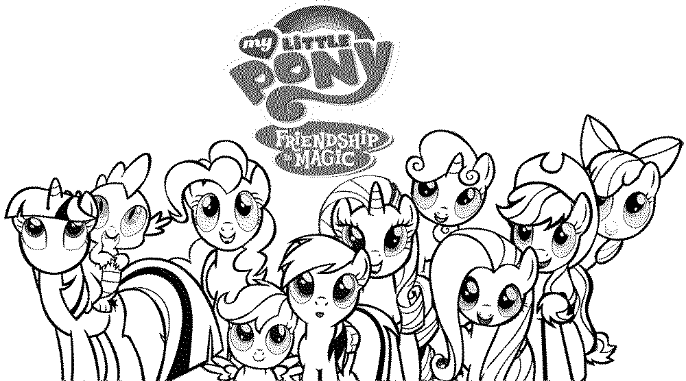 My Little Pony Coloring Pages To Print Impressive Print & Download  My Little Pony Coloring Pages Learning With Fun 2017