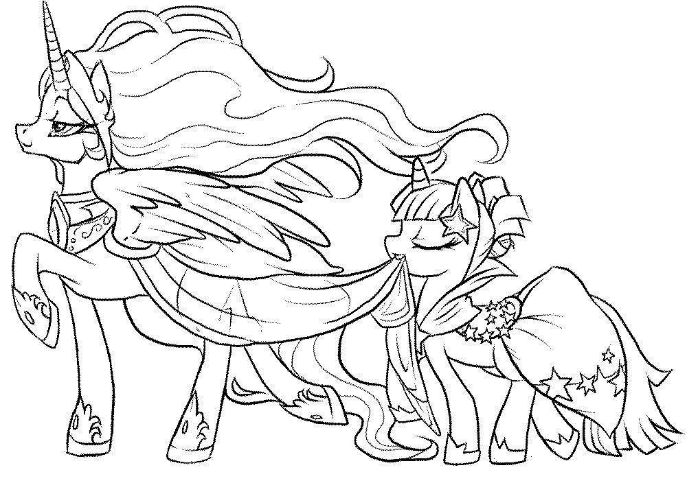 Coloring Pages For Kids My Little Pony Hd Football