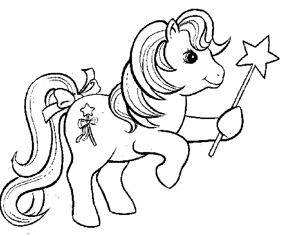 My little pony coloring pages for kids free - My Little Pony Pinkie Pie Coloring Pages