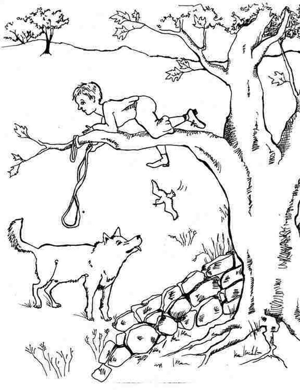 free wolf coloring pages - peter and the wolf free coloring sheets murderthestout