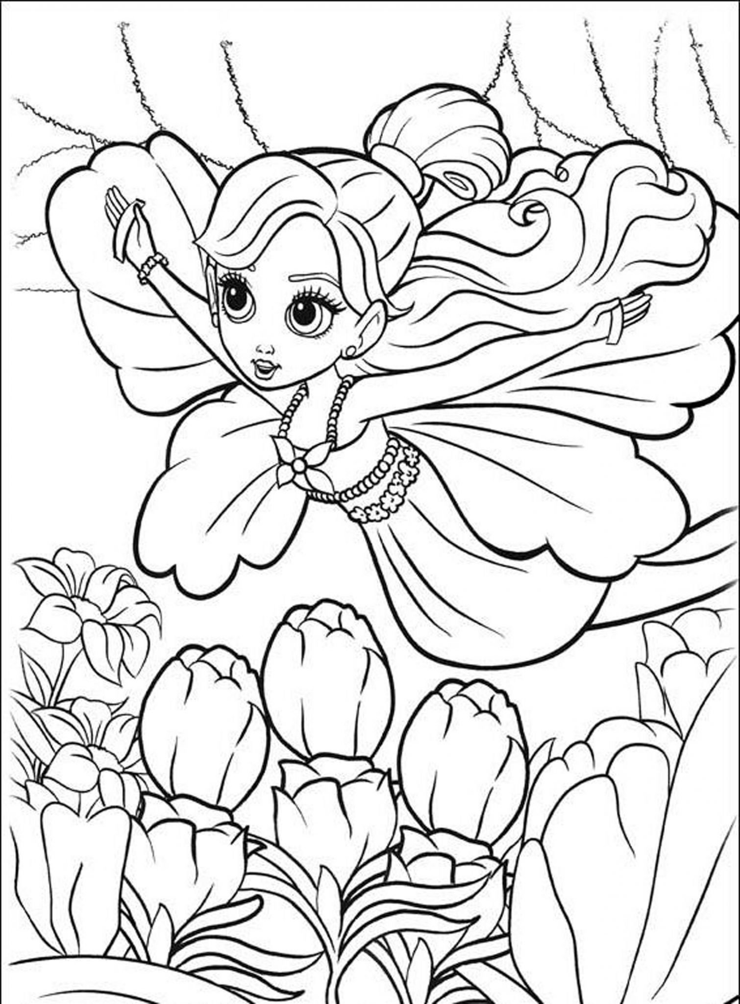 Print & Download - Coloring Pages for Girls, Recommend a ...