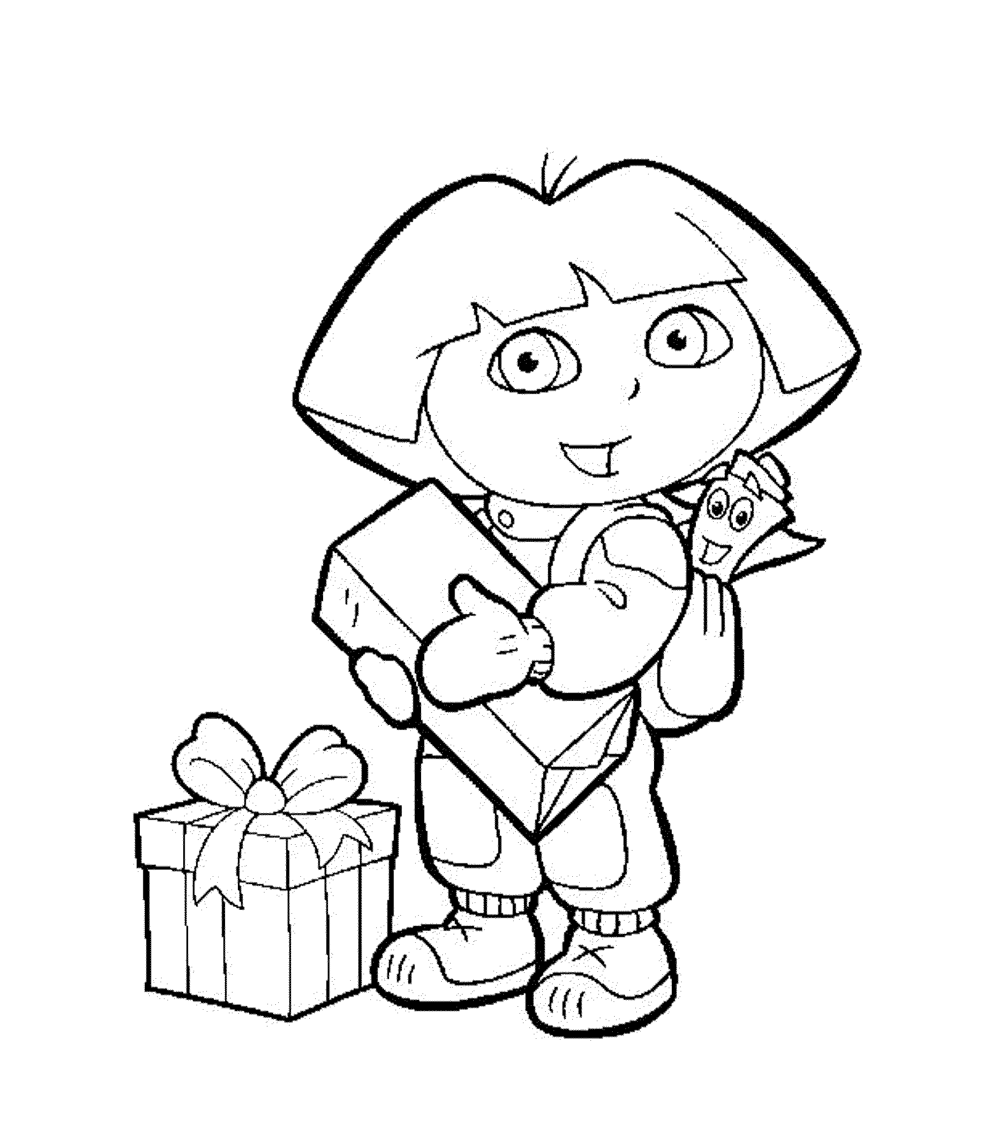 Dora coloring pages printable - Shop Related Products