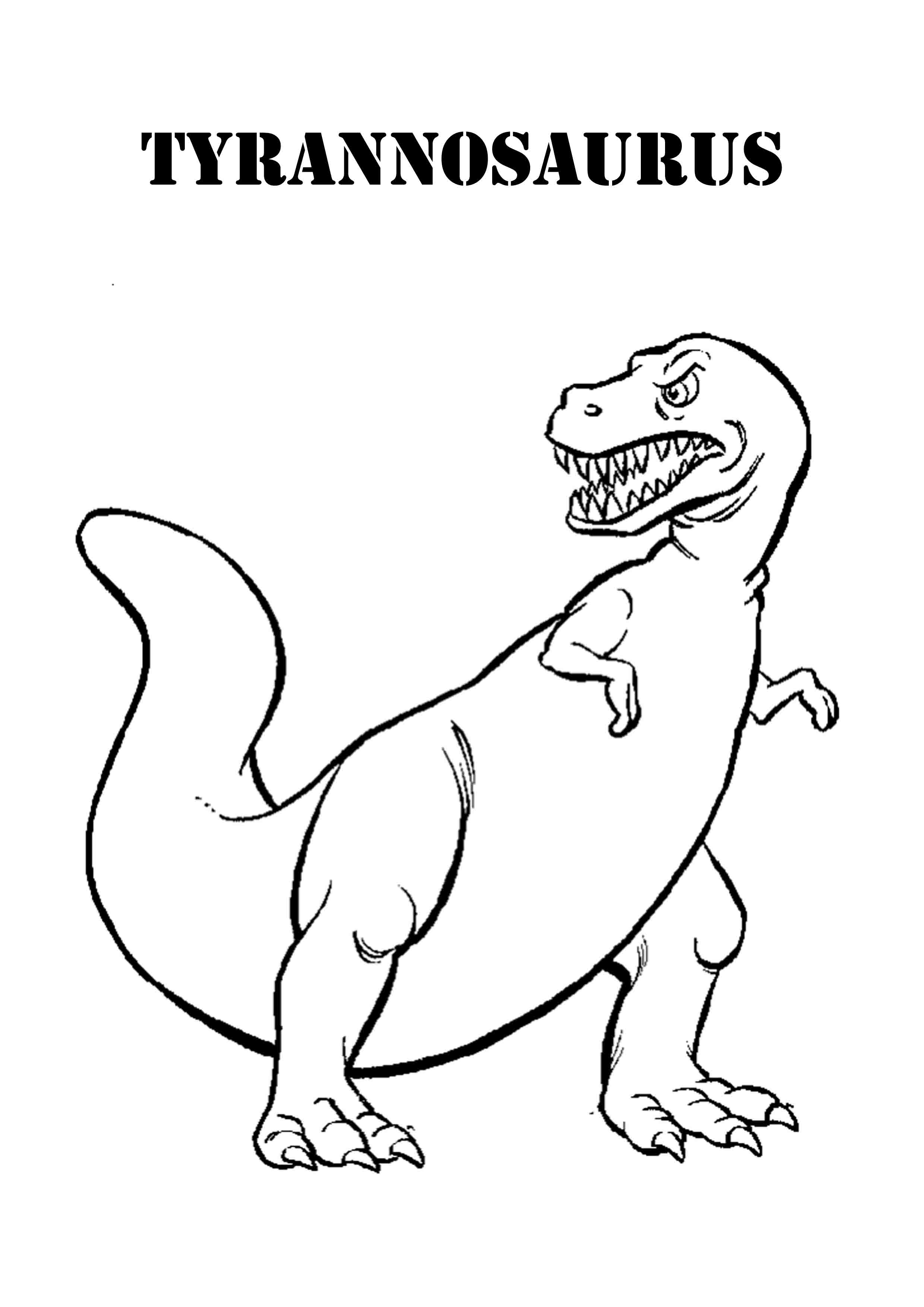 scary dinosaur coloring pages. Black Bedroom Furniture Sets. Home Design Ideas