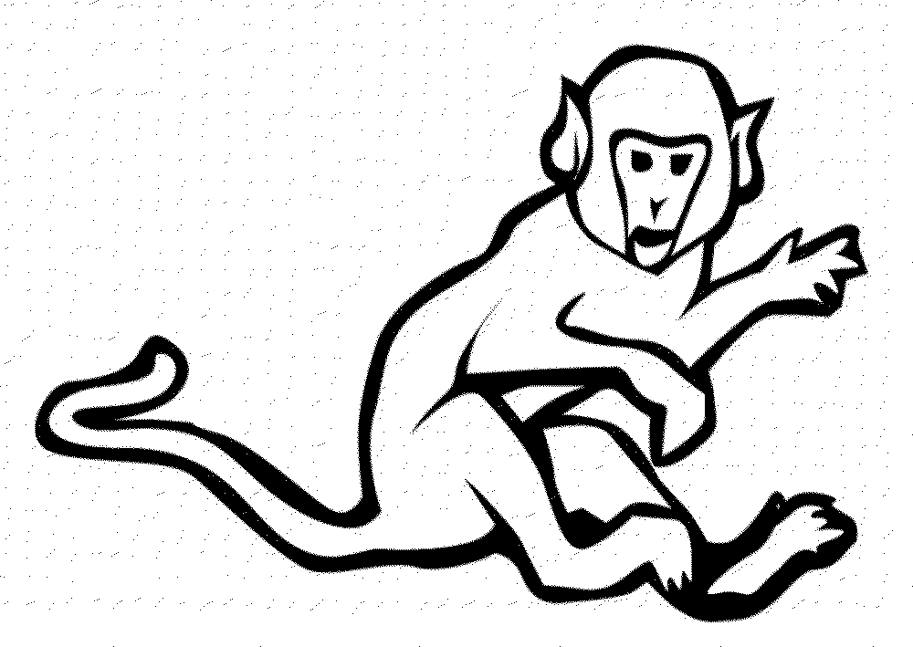 Sock Monkey Coloring Pages Bestappsforkids Com