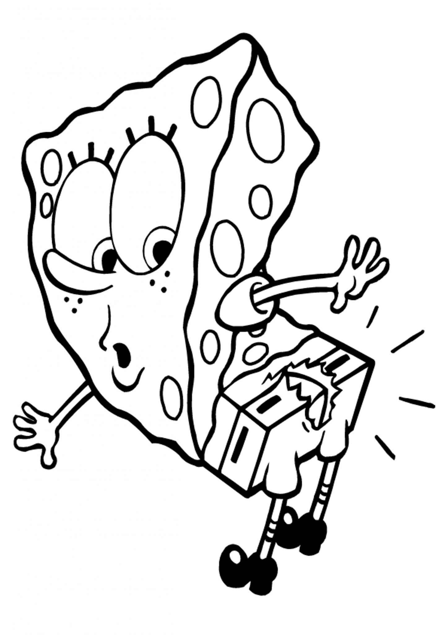 Print & Download - Choosing SpongeBob Coloring Pages For Your Children -