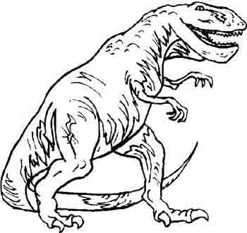 t rex dinosaur coloring pages printable large BestAppsForKidscom